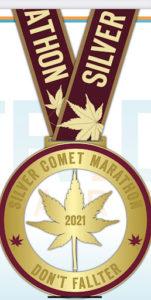 Silver Comet Races 2021 Marathon Medal