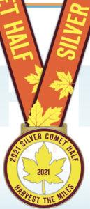 Silver Comet Races 2021 Half Marathon Medal